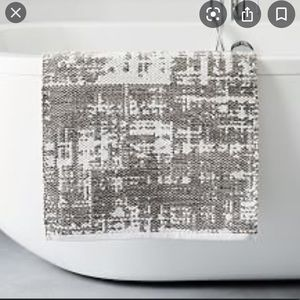 West elm bath mat new